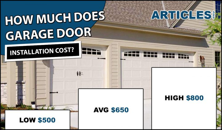 How Much Does Garage Door Installation Cost?
