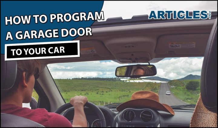 How To Program Garage Door To Car