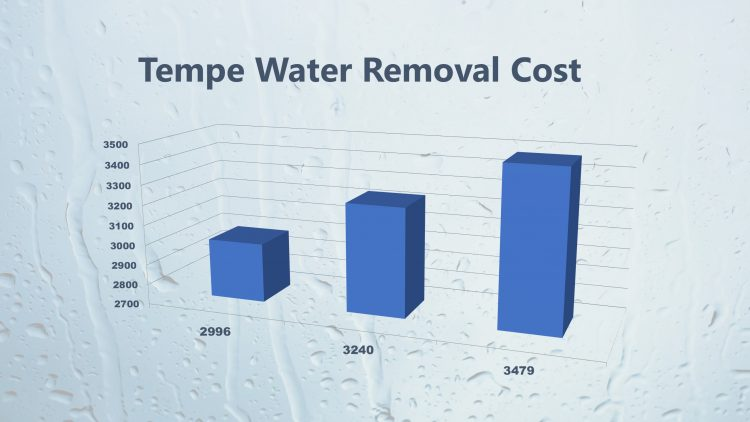Tempe Water Removal Cost