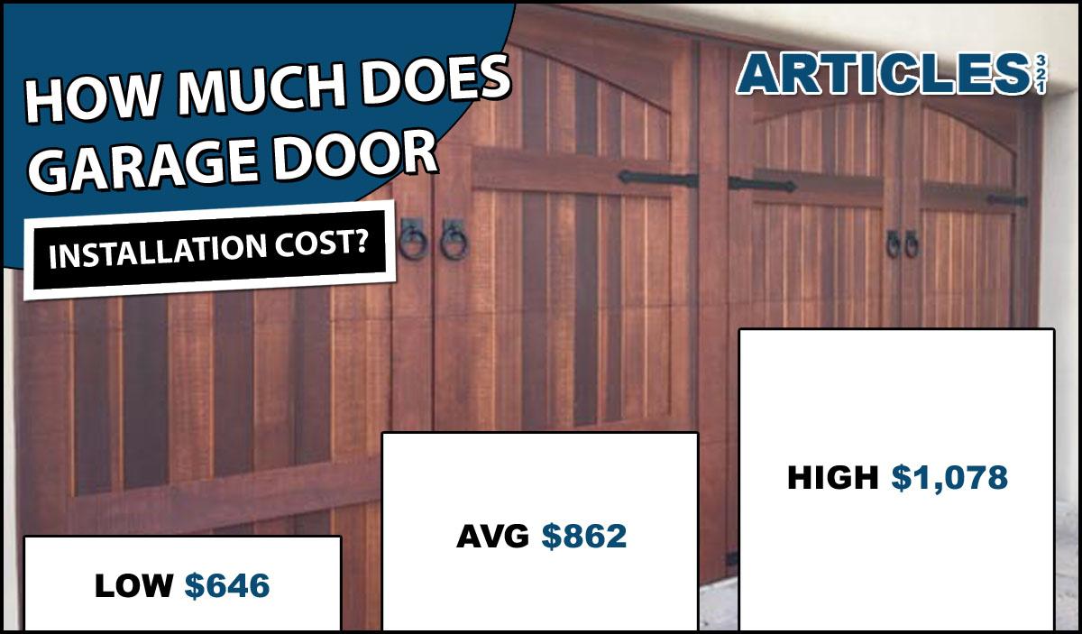 Garage Door Installation Costs